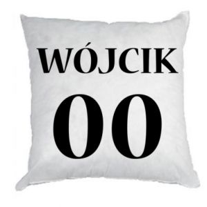 Pillow Surname and number