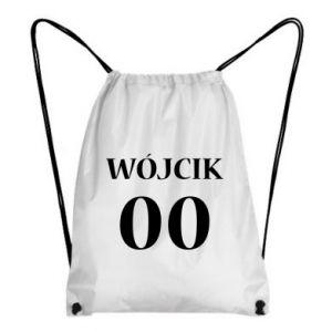 Plecak-worek Nazwisko i numer