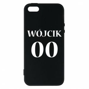 Phone case for iPhone 5/5S/SE Surname and number
