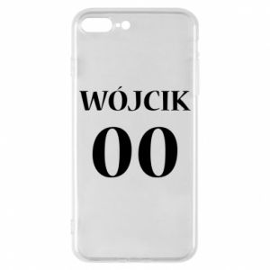 Phone case for iPhone 8 Plus Surname and number