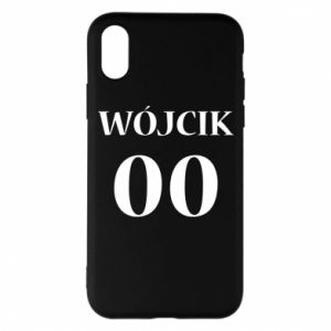 Phone case for iPhone X/Xs Surname and number