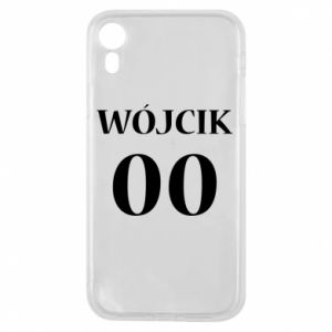 Phone case for iPhone XR Surname and number