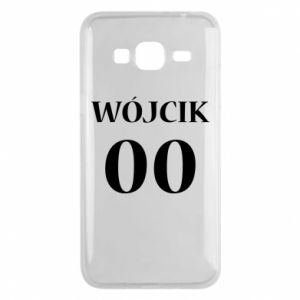 Phone case for Samsung J3 2016 Surname and number