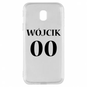 Phone case for Samsung J3 2017 Surname and number