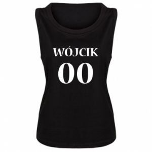 Damska koszulka Nazwisko i numer - PrintSalon