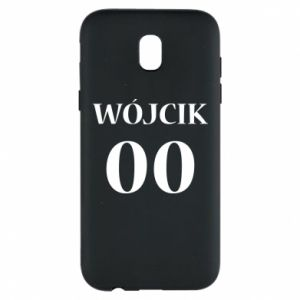 Phone case for Samsung J5 2017 Surname and number