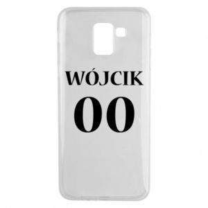 Phone case for Samsung J6 Surname and number