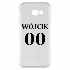 Phone case for Samsung A5 2017 Surname and number