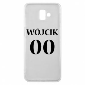 Phone case for Samsung J6 Plus 2018 Surname and number
