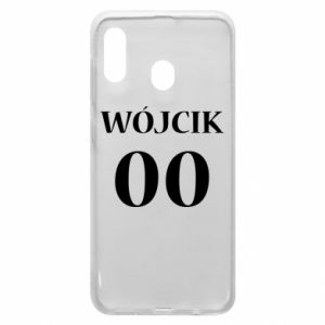 Phone case for Samsung A20 Surname and number