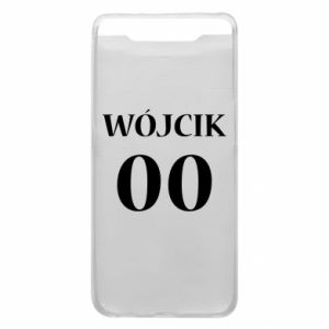 Phone case for Samsung A80 Surname and number