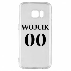 Phone case for Samsung S7 Surname and number