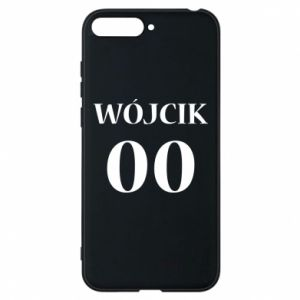 Phone case for Huawei Y6 2018 Surname and number