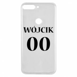 Phone case for Huawei Y7 Prime 2018 Surname and number