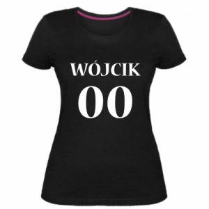 Damska premium koszulka Nazwisko i numer - PrintSalon