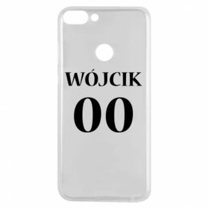 Phone case for Huawei P Smart Surname and number