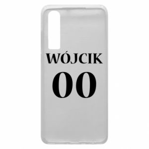 Phone case for Huawei P30 Surname and number