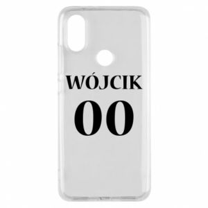 Phone case for Xiaomi Mi A2 Surname and number