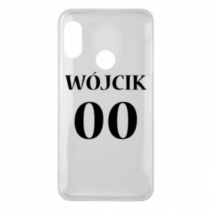 Phone case for Mi A2 Lite Surname and number
