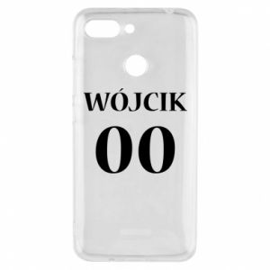 Phone case for Xiaomi Redmi 6 Surname and number