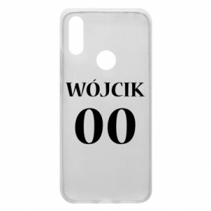 Phone case for Xiaomi Redmi 7 Surname and number