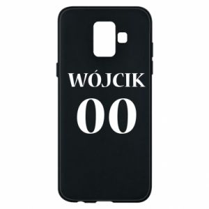 Phone case for Samsung A6 2018 Surname and number