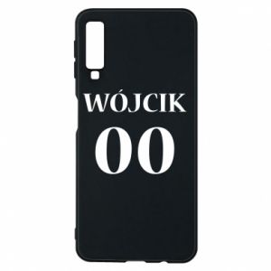 Phone case for Samsung A7 2018 Surname and number