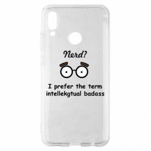 Huawei P Smart 2019 Case Nerd? I prefer the term intellectual badass