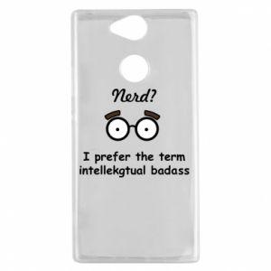 Sony Xperia XA2 Case Nerd? I prefer the term intellectual badass