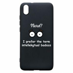 Phone case for Xiaomi Redmi 7A Nerd? I prefer the term intellectual badass