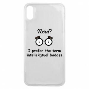Etui na iPhone Xs Max Nerd? I prefer the term intellectual badass