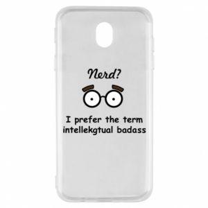 Samsung J7 2017 Case Nerd? I prefer the term intellectual badass