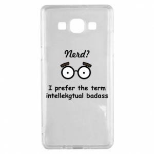 Samsung A5 2015 Case Nerd? I prefer the term intellectual badass