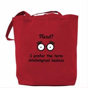 Bag Nerd? I prefer the term intellectual badass