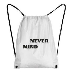 Plecak-worek Never mind
