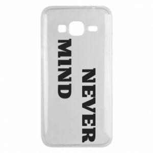 Etui na Samsung J3 2016 Never mind