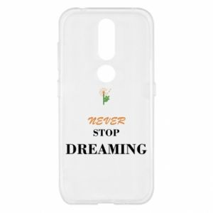 Etui na Nokia 4.2 Never stop dreaming