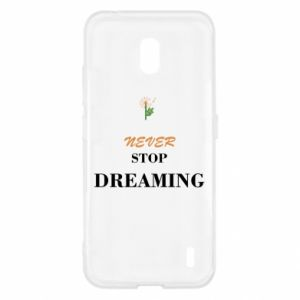 Etui na Nokia 2.2 Never stop dreaming