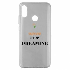 Etui na Huawei Honor 10 Lite Never stop dreaming