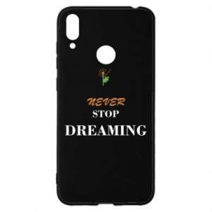 Etui na Huawei Y7 2019 Never stop dreaming