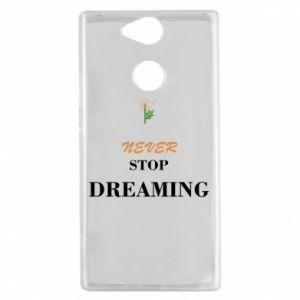 Etui na Sony Xperia XA2 Never stop dreaming