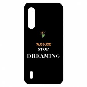 Etui na Xiaomi Mi9 Lite Never stop dreaming