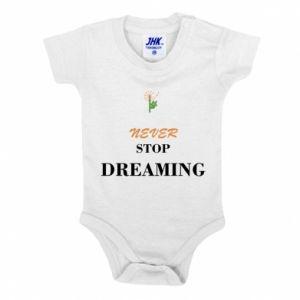 Body dla dzieci Never stop dreaming