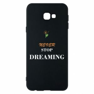 Etui na Samsung J4 Plus 2018 Never stop dreaming