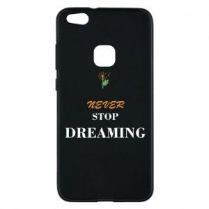 Etui na Huawei P10 Lite Never stop dreaming