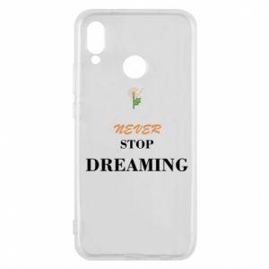 Etui na Huawei P20 Lite Never stop dreaming
