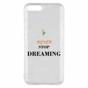 Etui na Xiaomi Mi6 Never stop dreaming