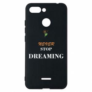 Etui na Xiaomi Redmi 6 Never stop dreaming