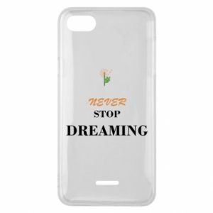 Etui na Xiaomi Redmi 6A Never stop dreaming