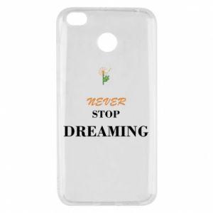 Etui na Xiaomi Redmi 4X Never stop dreaming